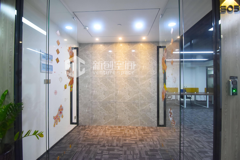 深圳虚拟大学园100㎡精装办公室出租6500元/月