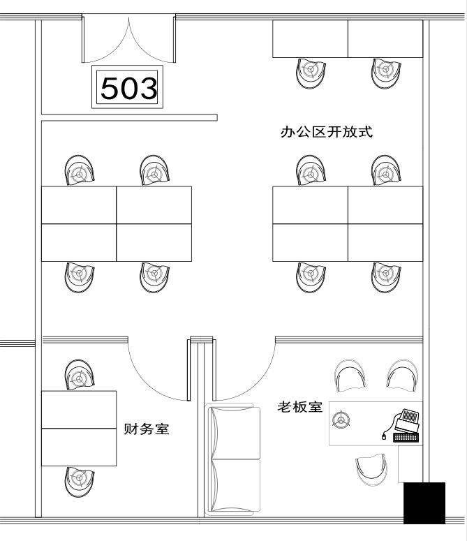 深圳虚拟大学园134㎡精装办公室出租8710元/月