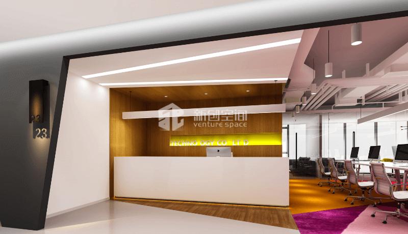 赛西科技大厦3000.0㎡办公室装修案例